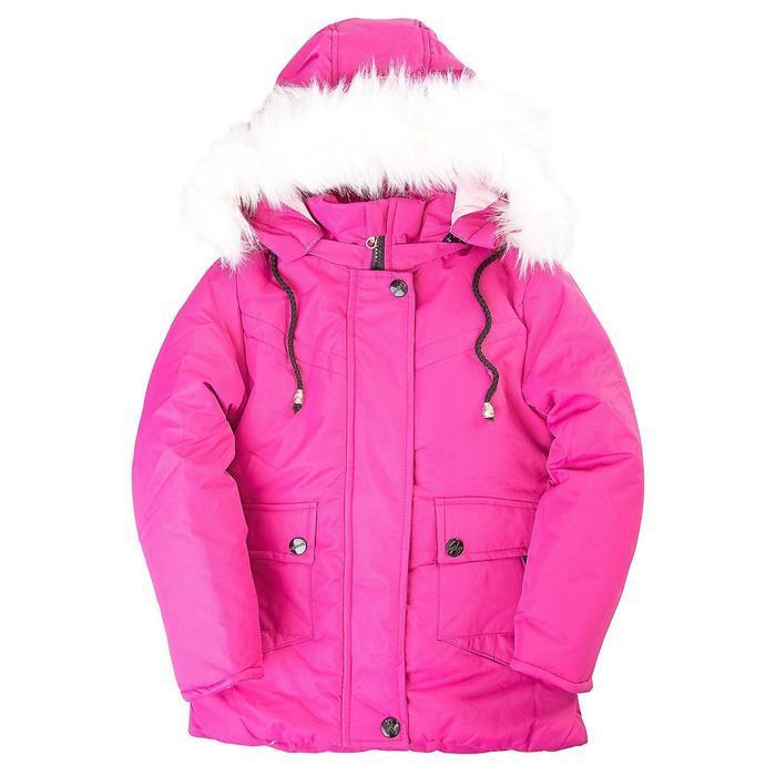 Куртка для девочки, цвет лиловый, рост 116 см