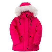 Куртка для девочки, цвет малиновый, рост 122 см