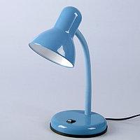 "Настольная лампа ""Design"" 1x60W E27 синяя 14x14x33см"
