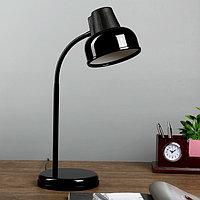 Настольная лампа БЕТА_Ш E27 60Вт черный гибк.стойка 45см, фото 1