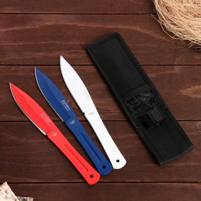 """Набор ножей метательных 3 шт. """"Патриот"""""""