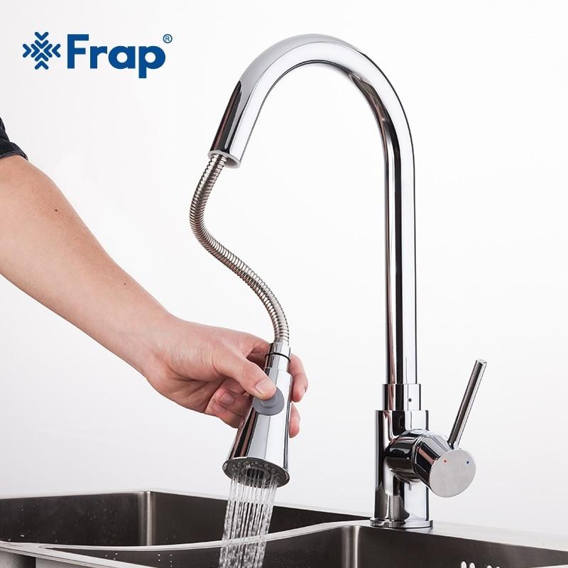 Смеситель для кухни Frap F6052