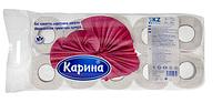 Туалетная бумага «Карина» , 8 шт/уп, б/о