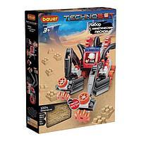 Конструктор Technobot, цвет: красный, белый, серый, с кинетическим песком
