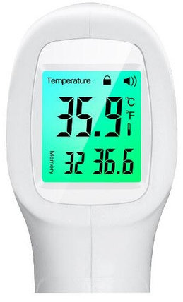 Бесконтактный инфракрасный термометр GP-300 (Сертификат EAC), фото 2