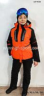 Женский горнолыжный костюм Salomon (оранжевый)
