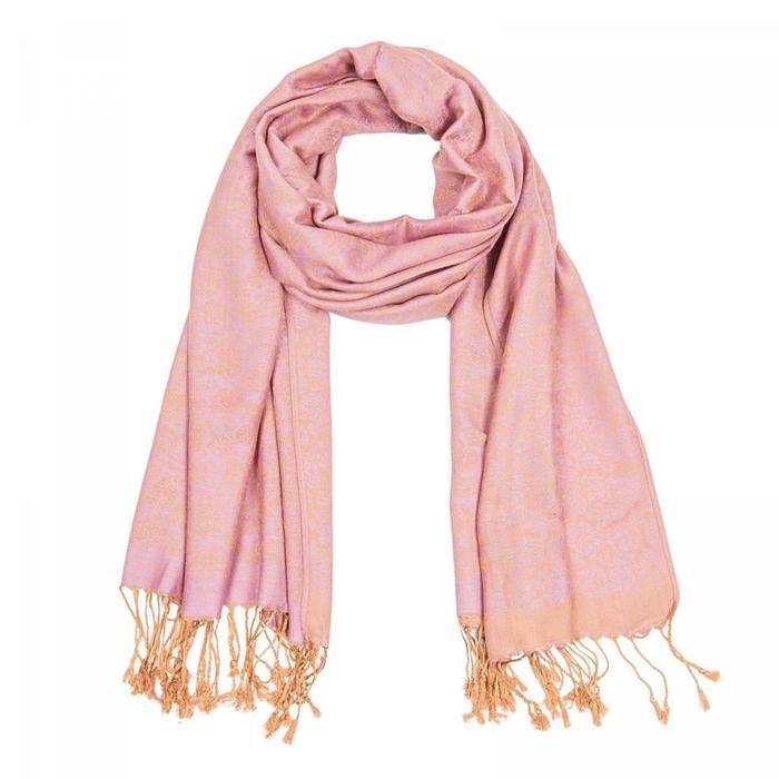 Палантин женский PJ1938_8 цвет розовый, р-р 68х178