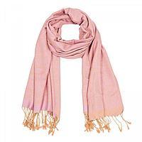 Палантин женский PJ1938_8 цвет розовый, р-р 68х178, фото 1