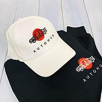 Нанесение логотипа на кепки, футболки и кофты