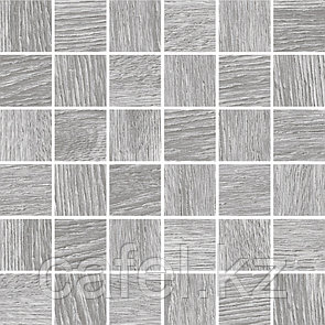 Керамогранит под дерево 30х60 Woodhouse | Вудхаус серый мозайка