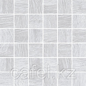 Керамогранит под дерево 30х60 Woodhouse | Вудхаус светло-серый мозайка