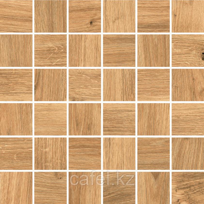Керамогранит под дерево 30х60 Woodhouse | Вудхаус коричневый мозайка