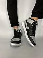 Кроссовки Jordan 892-2 черн сер, фото 1