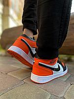 Кроссовки Jordan 829-5 черн оранж, фото 1