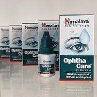 Офтакейр или Оптакейр (Ophthacare, Himalaya) - увлажнение, защита глаз, снятие усталости и напряжения, 10 мл