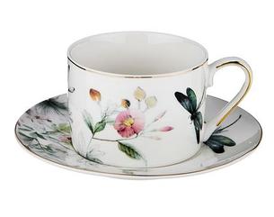 """Чайный НАБОР НА 1 ПЕРСОНУ, 2 ПР., """"СТРЕКОЗА"""" 250 МЛ."""