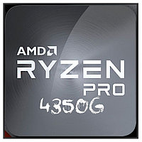 Процессор CPU AM4 AMD Ryzen 3 PRO 4350G TRAY (3.8GHz ( до 4.0GHz) , 65W, 4/8) Ryzen 3 PRO 4350G