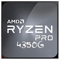 Процессор CPU AM4 AMD Ryzen 3 PRO 4350G TRAY (3.8GHz ( до 4.0GHz) , 65W, 4/8) Ryzen 3 PRO 4350G
