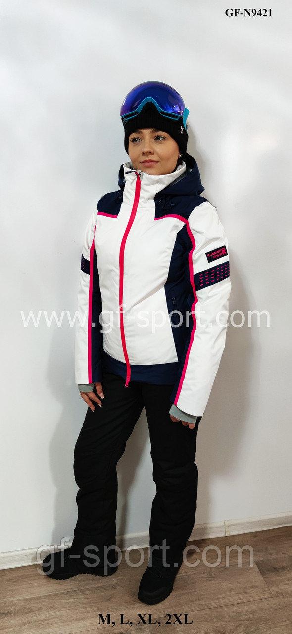 Женский горнолыжный костюм Running River (белый комбинированный)