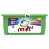 Моющее средство ARIEL color 3 в 1, 30 шт