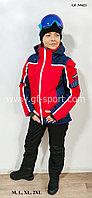 Женский горнолыжный костюм Running River (красный комбинированный)