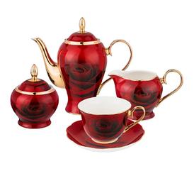 Чайный сервиз на 6 персон, 15 пр. кармен