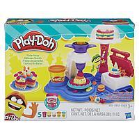 Пластилин Play-Doh Плейдо с формочками в наборе «Торт для вечеринки», фото 1