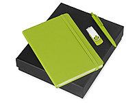 Подарочный набор Vision Pro Plus soft-touch с флешкой, ручкой и блокнотом А5