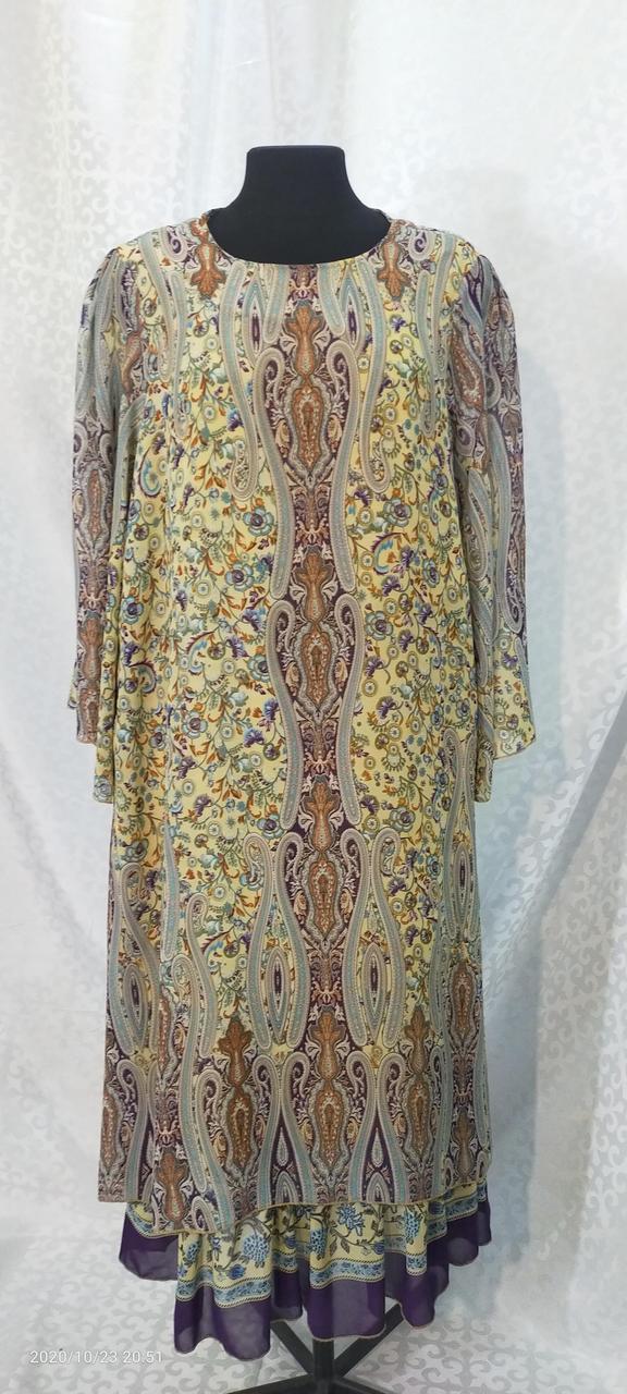 Шифоновое платье Асьма 58 - фото 1