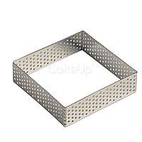 Форма перфорированная квадрат 7*7 см
