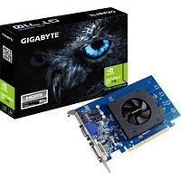 Видеокарта Gigabyte GeForce GT710 Low Profile 1GB DDR5 64bit DVI HDMI GV-N710D5-1GL