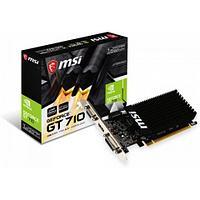 Видеокарта MSI GeForce GT 710, 1GB DDR3 64-bit 1xVGA 1xDVI 1xHDMI GT 710 1GD3H LP