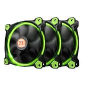 Вентилятор для корпуса Thermaltake Riing 12 LED Radiator Fan Green 3 Pack