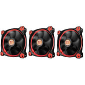 Вентилятор для корпуса Thermaltake Riing 12 LED Radiator Fan Red 3 Pack