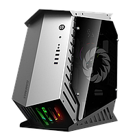 Корпус ПК без БП GameMax AUTOBOT < 3x120 Rainbow, 3.5x3, 2.5x3, Buttons 2, USB2.0x2, USB3.0x2, HD Audio 576*22, фото 1