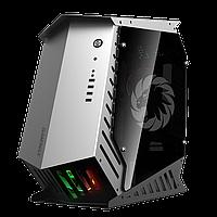 Корпус ПК без БП GameMax AUTOBOT < 3x120 Rainbow, 3.5x3, 2.5x3, Buttons 2, USB2.0x2, USB3.0x2, HD Audio 576*22