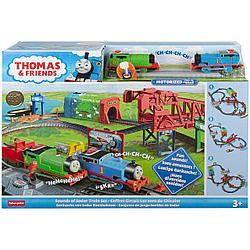 """Томас и друзья. Игровой набор """"День на острове Содор"""" с моторизированными поездами"""