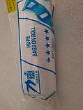 Пакеты в рулоне с ручками, прозрачные, фото 2