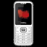 Мобильный телефон Nobby 110 (White-Gray)