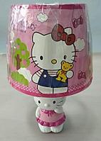 Светильник детский абажур Hello Kitty