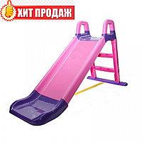 Горка детская Doloni 0140/05 розовая, фото 1