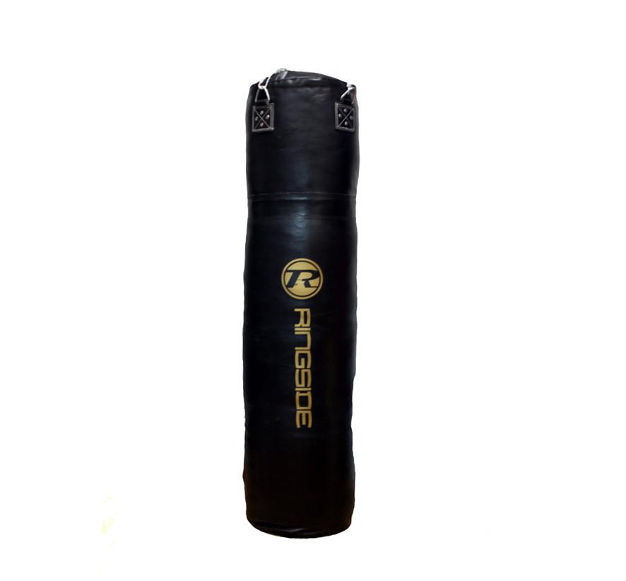 Боксерский мешок RINGSIDE из натуральной кожи (130х45см, 60кг)
