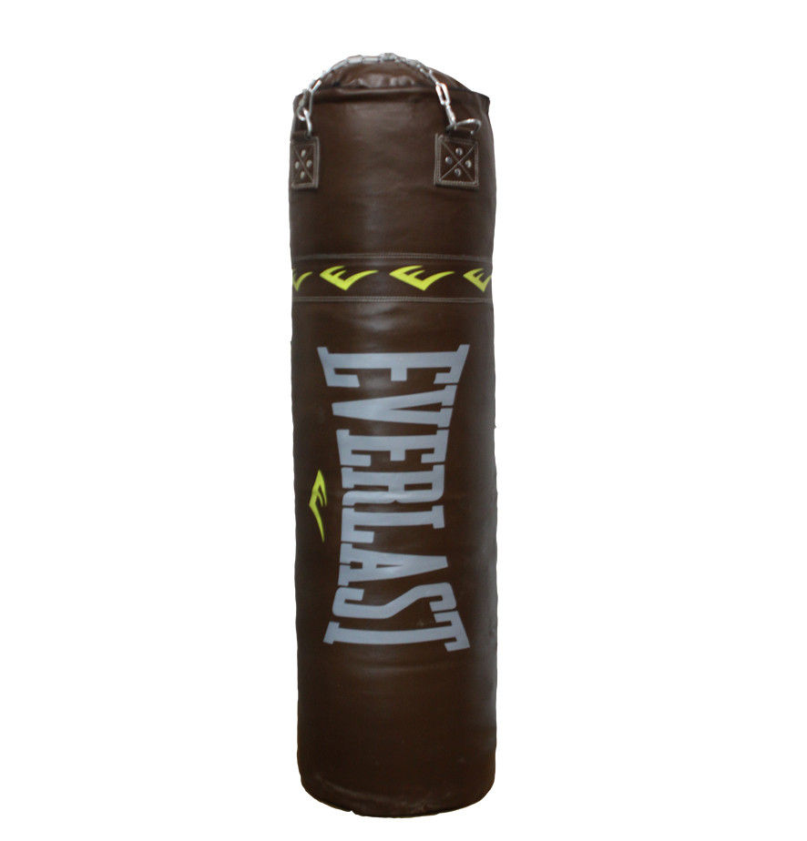 Боксерский мешок EVERLAST из натуральной кожи (150х45см, 68кг)