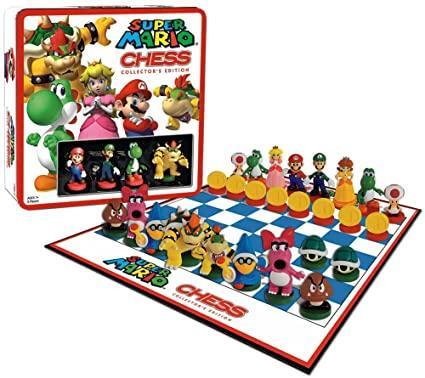 Шахматы Марио - Super Mario
