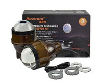 Би-ксеноновые противотуманные Aozoom 3 Inch Fog Projector Lens(гар-тия 6мес) (ком-т)