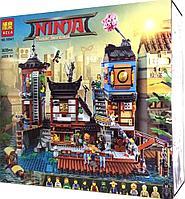 Конструктор Bela Ninja Порт НИНДЗЯГО Сити 10941