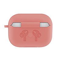 Силиконовый чехол для Apple AirPods Pro (без карабина, розовый)