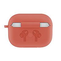 Силиконовый чехол для Apple AirPods Pro (без карабина, оранжевый)