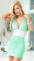 Ментоловое(зеленое) летнее платье
