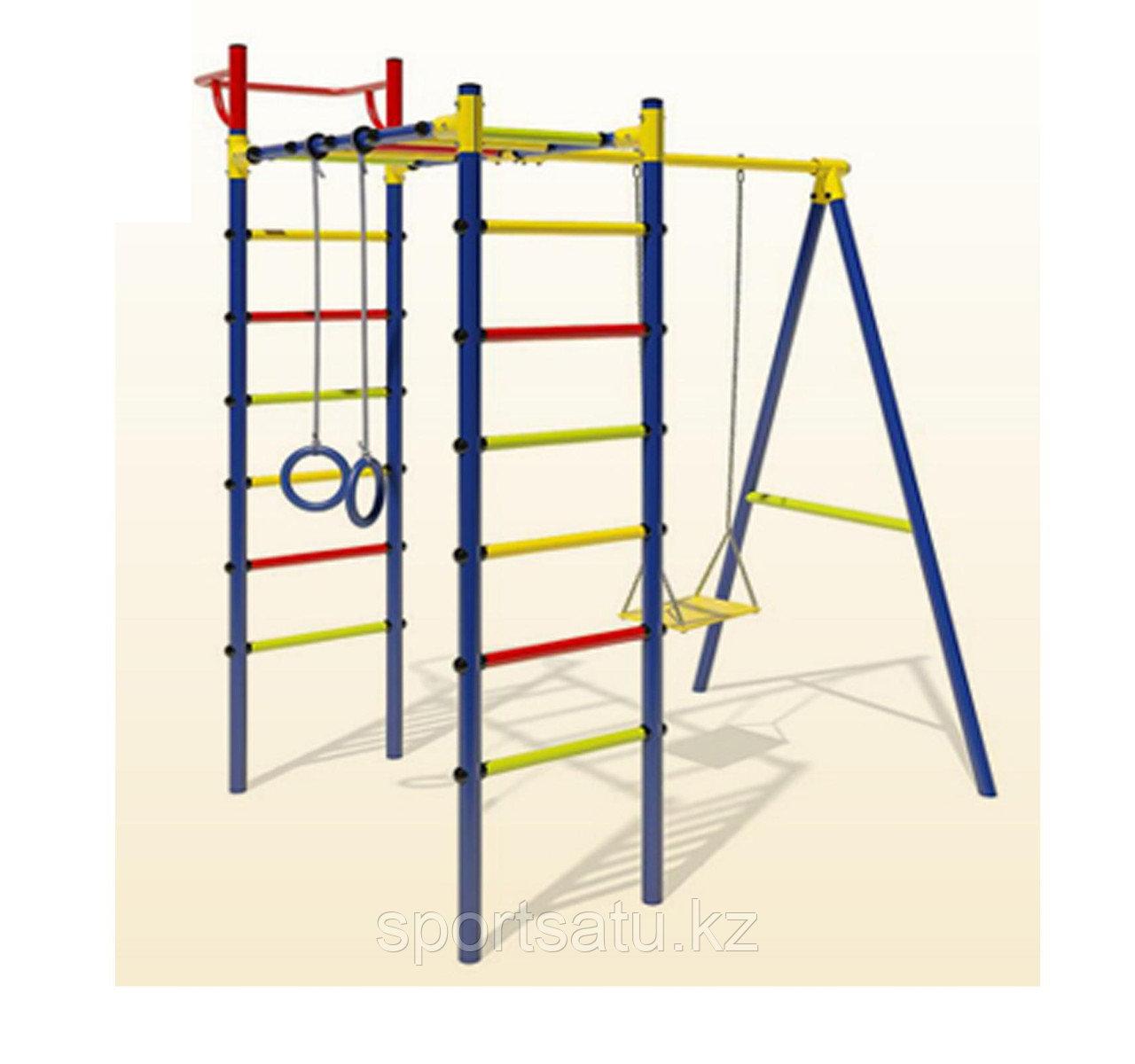Детский спортивный комплекс Маугли 14-01 1,65м качели